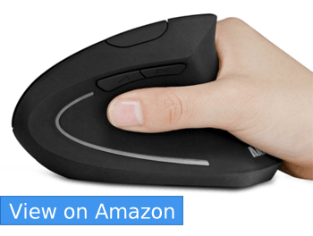 Anker 2.4G Wireless Vertical Optical Mouse– Best Overall Vertical Ergonomic Mouse