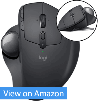Logitech MX ERGO Advanced Wireless Trackball Mouse Review