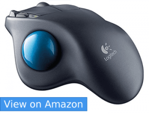 Logitech M570 Wireless Mouse– Best Overall Ergonomic Mouse for 2017