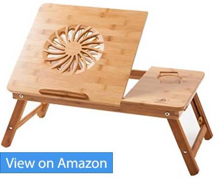 Laptop Desk Nnewvante Adjustable Laptop Desk Table