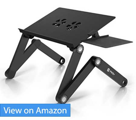 Pwr+ Portable Laptop-Table-Stand with Mouse Pad