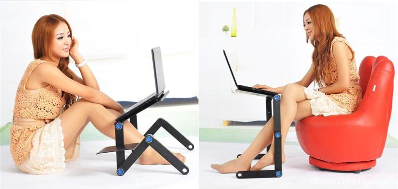 Adjustable Laptop Stand and Desk