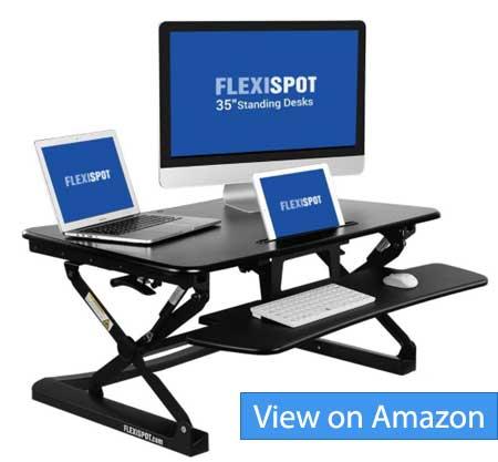 Flexispot 35 inch Standing desk riser M2B Review
