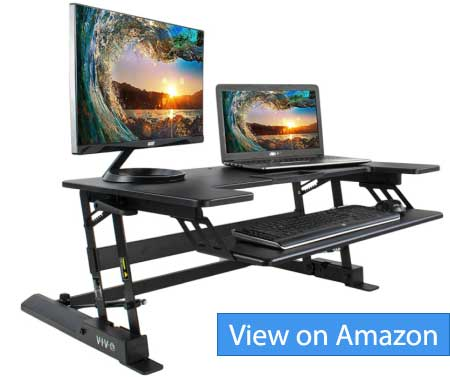 VIVO 36 inch Sit to Stand Workstation V00B Review