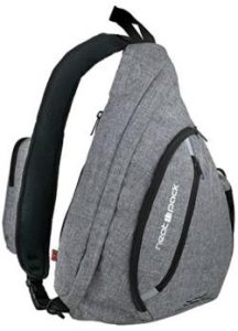 Ergonomic Gift- Canvas Canvas Sling Bag / Travel Backpack