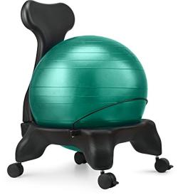 Great Ergonomic Gift- Luxfit Exercise Ball Chair