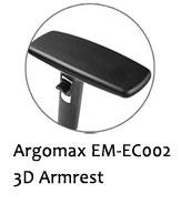 Argomax EM-EC002 3D Armrest