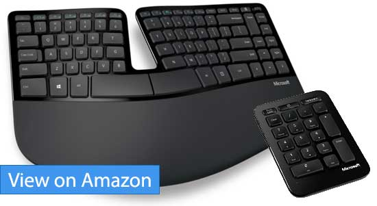 Microsoft Sculpt Ergonomic Split Keyboard Review