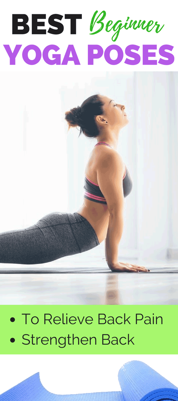 We consulted with Josie, a certified yoga instructor, to come up with 10 beginner friendly yoga poses that target your back- both to relieve your back tension and pain, and to strengthen the muscles in that area.