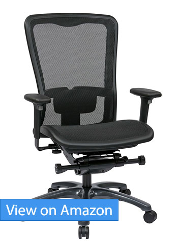 Office Star High Back Progrid Back Review