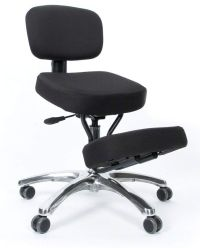 Kneeling chairs with back rest/ support