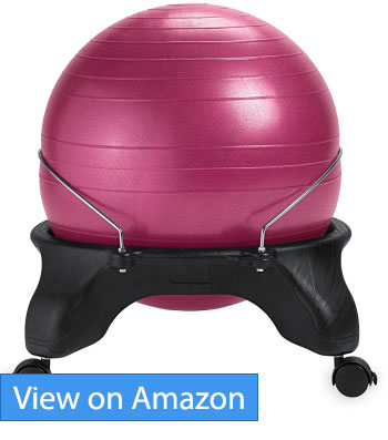 Gaiam Backless Balance Ball Chair Review