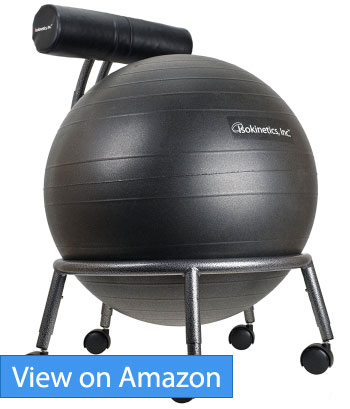 Isokinetics Inc. Brand Adjustable Fitness Ball Chair Review