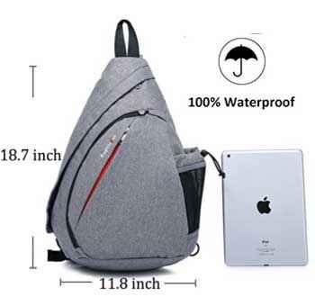 Magictodoor Sling Bag Travel Backpack Review