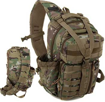 Men's Tactical Hydration Sling Backpack Review