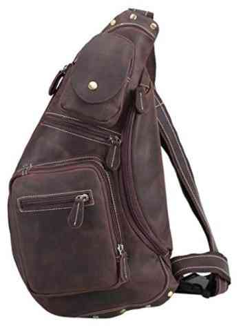 Polare Cool Real Leather Cross Body Sling Bag review