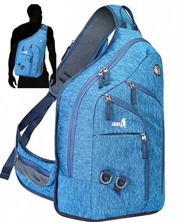 Seeu Oversized Sling Bag for Men Review