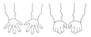 Extended Finger Stretch