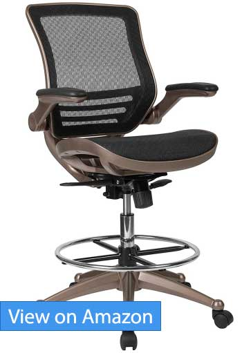 Flash Furniture Mid-Back Mesh Drafting Chair Review