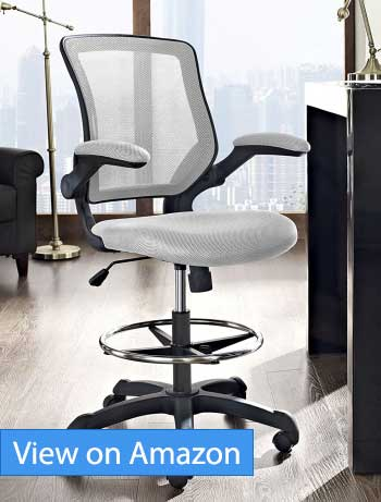 Modway Veer Drafting Stool Review