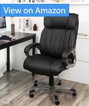 SONGMICS Big & Thick Office Chair Executive Chair Review
