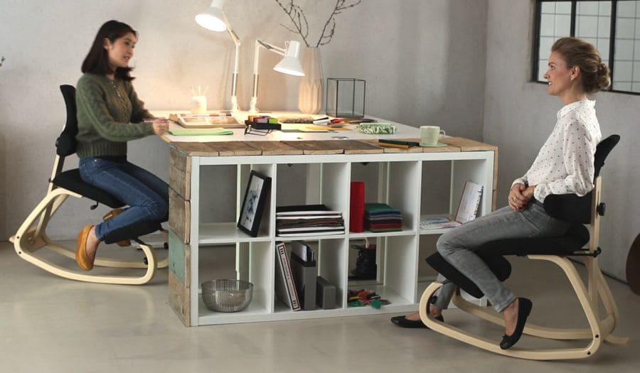 Details about  /Ergonomic Kneeling Chair Kneel Stool for Improving Posture Relieve Knee Pressure