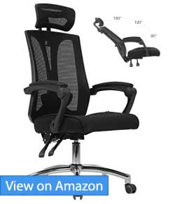 Hbada High Back Office Mesh Recliner Chair Review