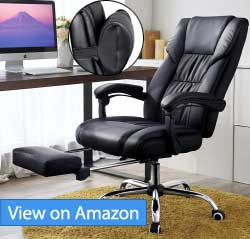 Songmics High Back Executive Swivel Chair Review