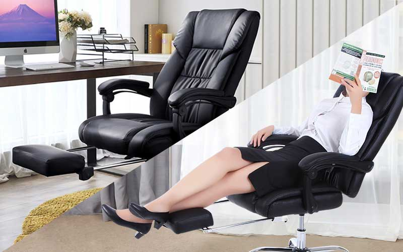 Merveilleux Best Reclining Office Chairs With Footrests (June 2018 Reviews)
