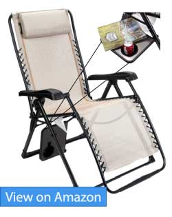 Timber Ridge Zero Gravity Lounge Pool Chair Review