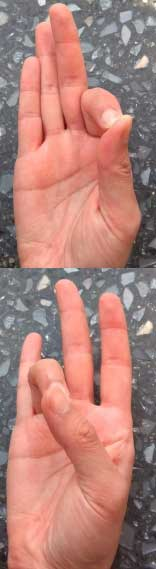 Hand Exercises- Thumb Touches