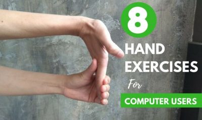 8 Hand and Wrist Exercises for Computer Users