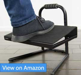 VIVO Ergonomic Standing Foot Rest Review