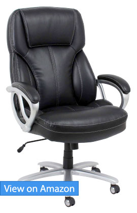 Essentials Big and Tall Leather Executive Chair Review