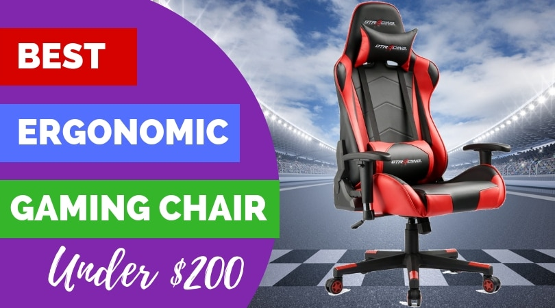 8 Best Budget Gaming Chairs Under 200 2020 Edition Ergonomic Trends