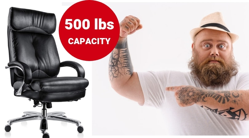 Office Chairs With 500 Lbs Capacity