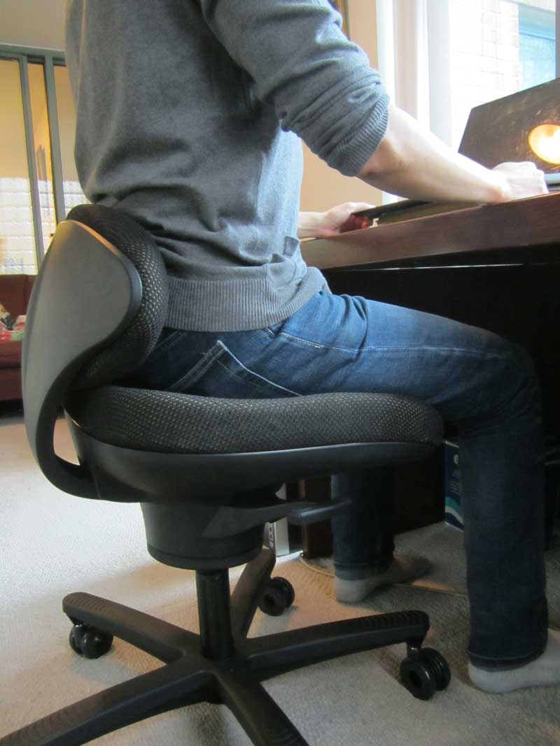 CoreChair Active Sitting Chair backrest