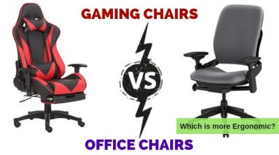 Gaming Chair Vs Office Chair for Ergonomics