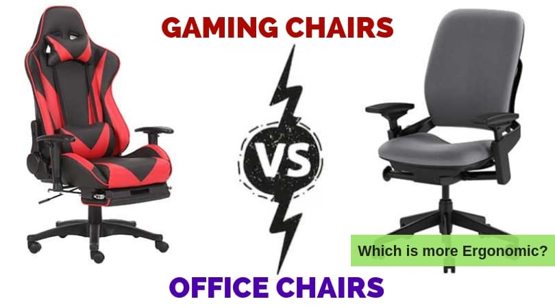 Gaming Chairs Vs Office Chairs Which Style Is More Ergonomic Ergonomic Trends
