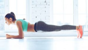 Low forearm plank instructions