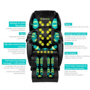 Real Relax Massage Chair Features