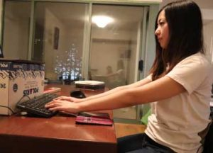 Arm Extension when Typing- Bad Posture