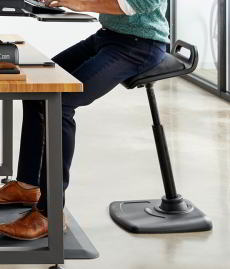 Varidesk Leaning Sit Stand Chair