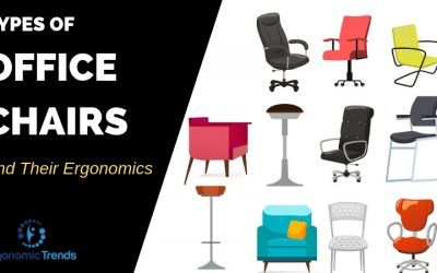 Types of Office Chairs and their Ergonomics