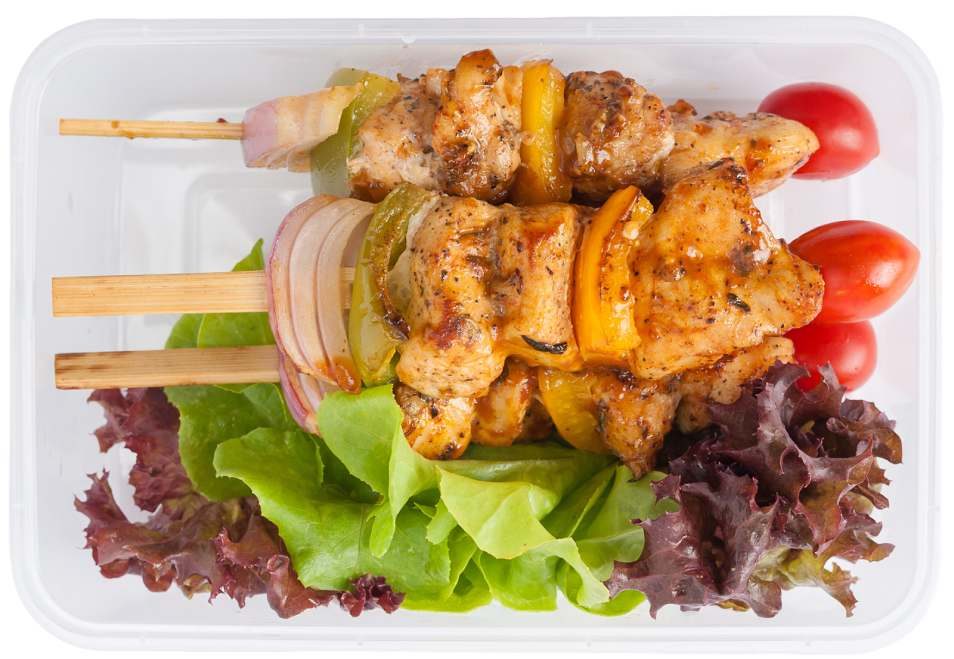 BBQ Chicken Kebab Lunchbox Recipe
