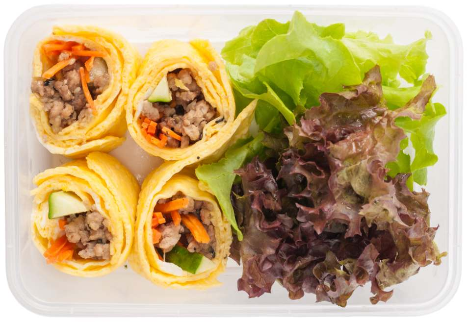 Easy Egg Wraps Lunchbox Recipe