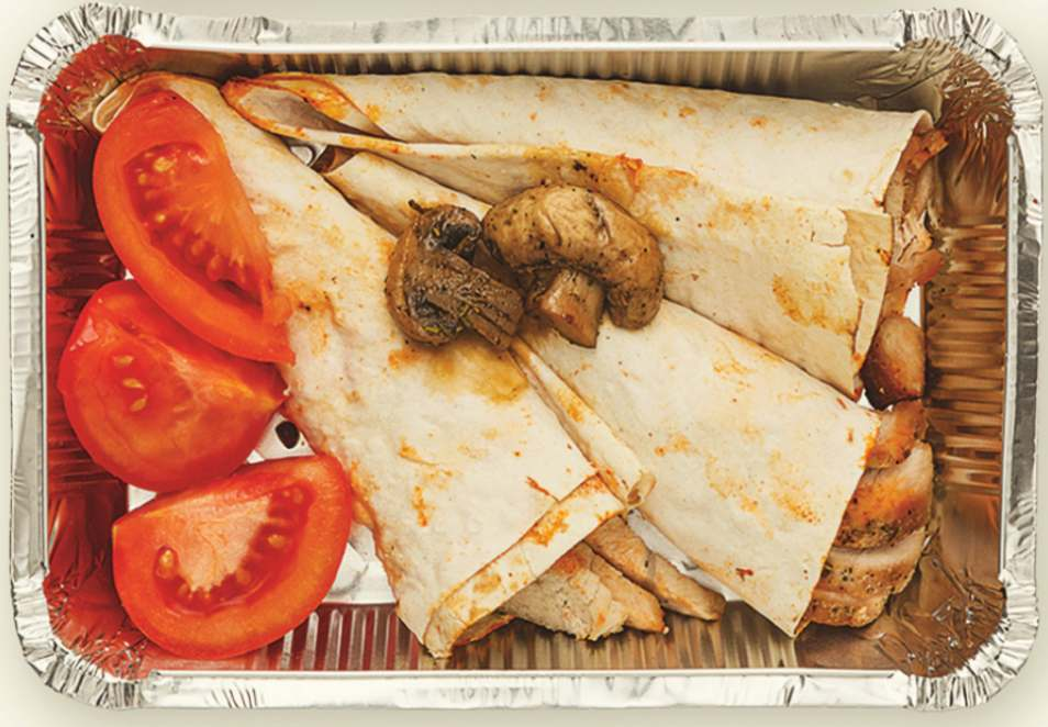 Grilled Chicken Pitas Lunchbox Recipe