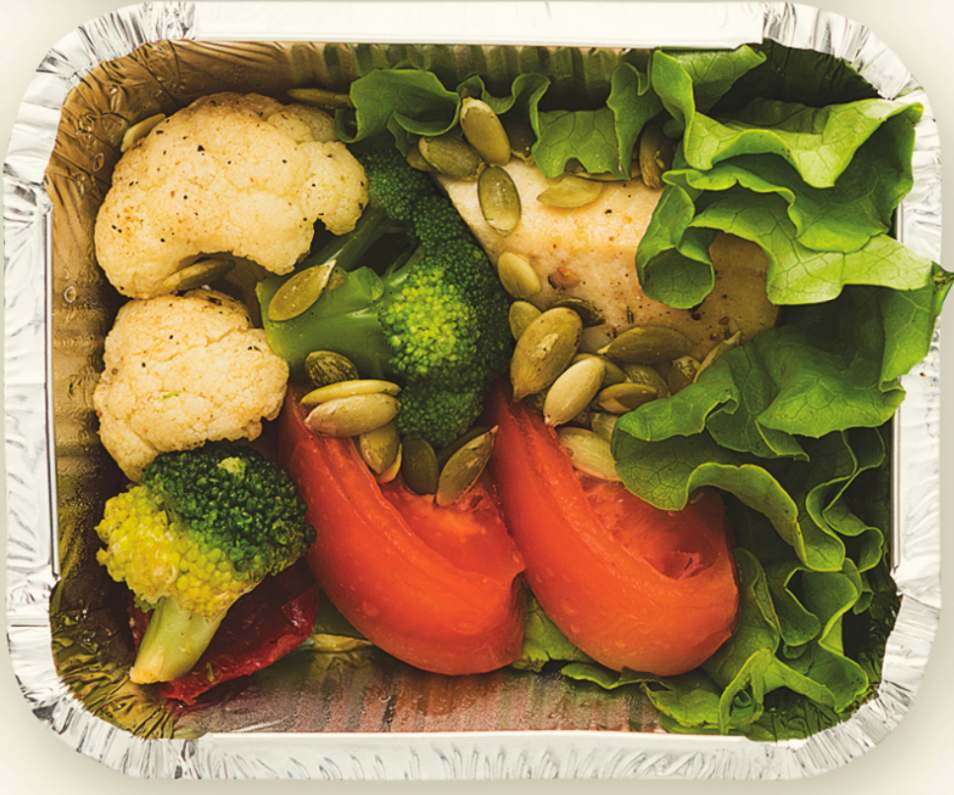 Herb-Infused Chicken and Vegetables Box Recipe
