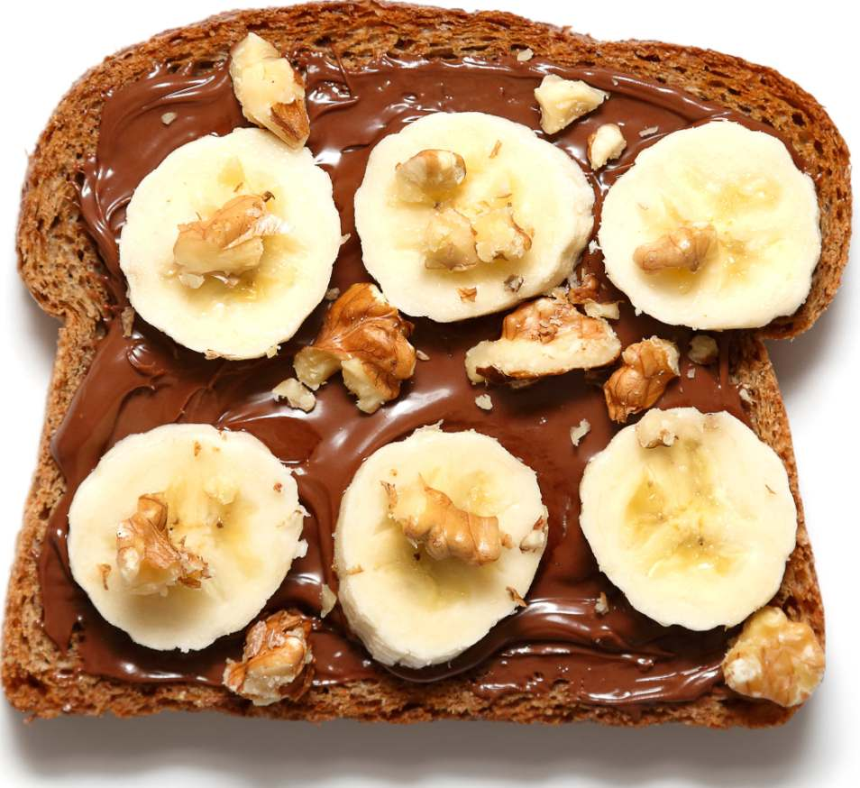Nutella Banana Sandwich Recipe