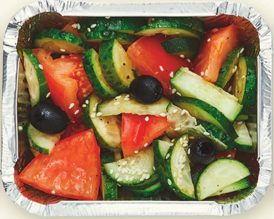 Refreshing Vegetable Salad Lunchbox Recipe
